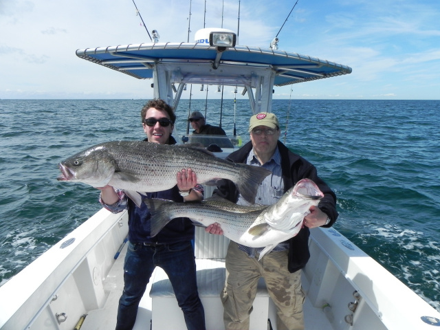 Fishing charters rhode island for Best striper fishing spot in ri