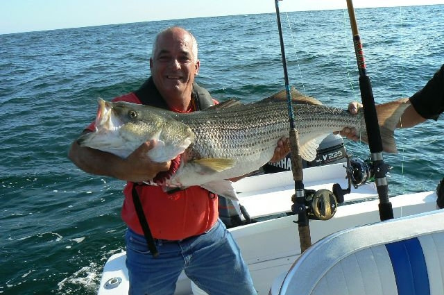 Ri fishing fishing ri fishing from galilee for tautogs for Best striper fishing spot in ri