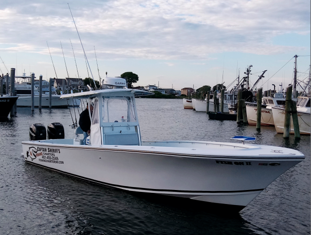 RI Fishing Charter Boat - Captain Sheriff